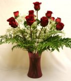 One Dozen Long Stemmed Roses