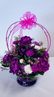 1 bouquet purple passion
