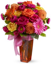 1 1 A Chic flower Bouquet